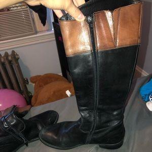 Aldo Shoes - Black/ Brown cute boots